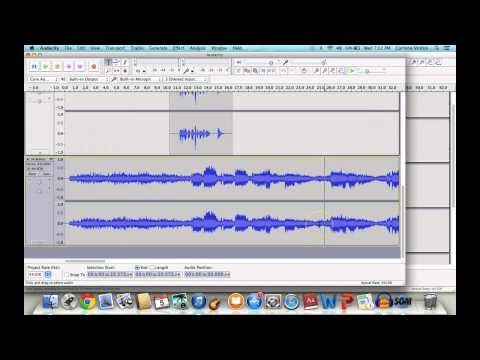 Record Your Own Audiobooks with Audacity!