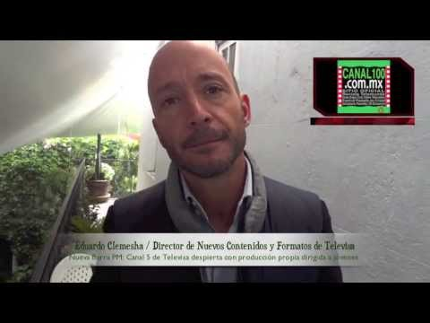 Eduardo Clemesha Barra Pm De Canal 5 Presentado Por Jose Antonio