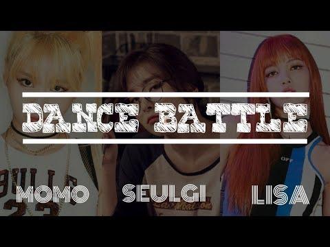 [DANCE BATTLE] Momo (TWICE) X Seulgi (RED VELVET) X Lisa (BLACKPINK)
