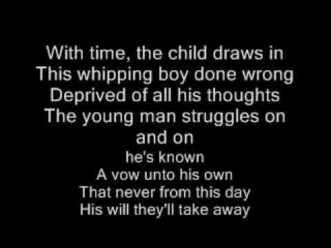 The unforgiven-Metallica,Lyrics-Letra