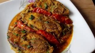 Hilsa Fish Curry With Tomato।। টমেটো দিয়ে ইলিশ মাছ দুপেয়াজা রেসিপি  ||ilish vuna ||