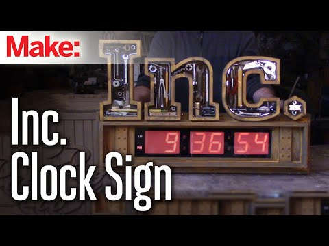 DiResta: Inc. Clock Sign