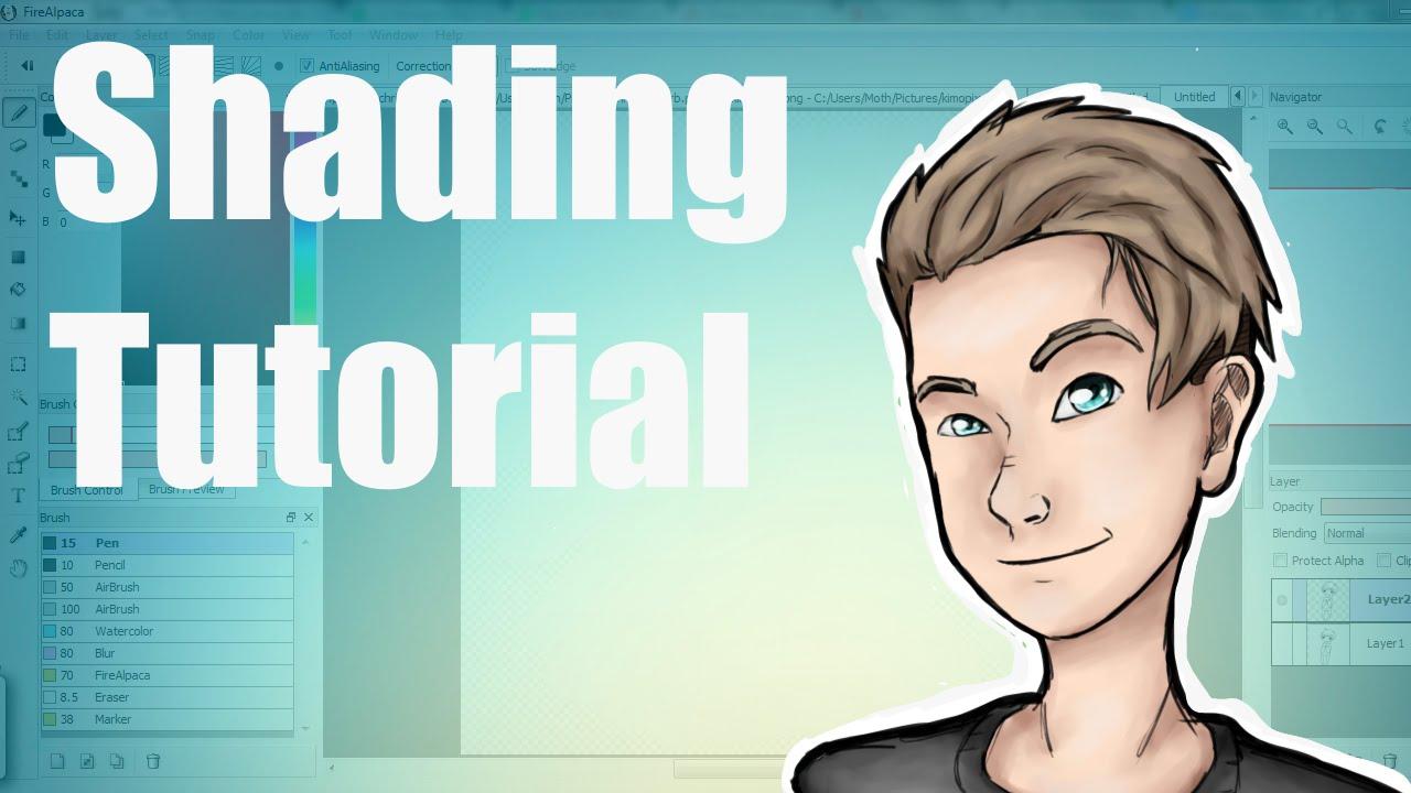 digital art shading tutorial youtube