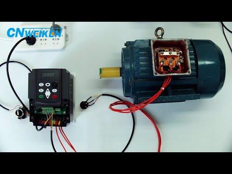 Single phase 220V to three phase 380V inverter/VFD/converter/transformer for driving motor