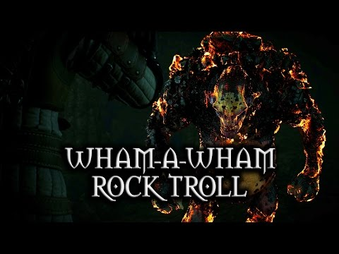 The Witcher 3: Wild Hunt - Wham-a-Wham Rock Troll
