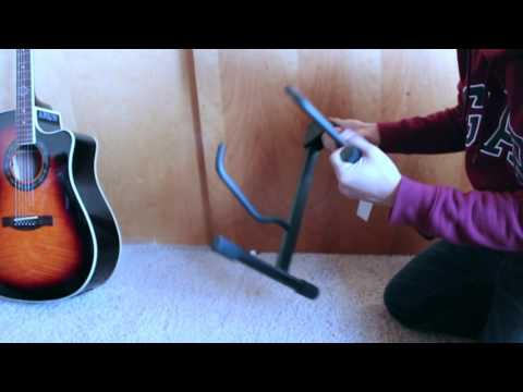 Musician's Gear A Frame Acoustic Guitar Stand Unboxing | Review