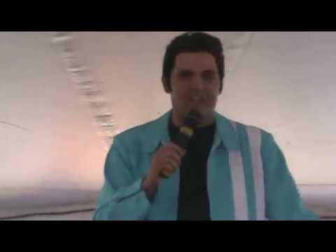 Cody Slaughter As Elvis Sings 'Pocketful Of Rainbows' Elvis Week 2014