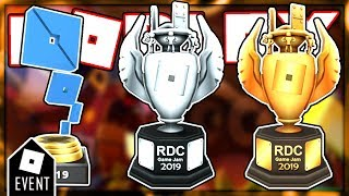 [LEAKS] ROBLOX RDC EVENT PRIZES | NEW ROBLOX EVENT 2019