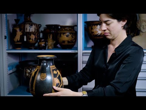 Greek Athletes in Training | An Attic Vase Attributed to the Carpenter Painter