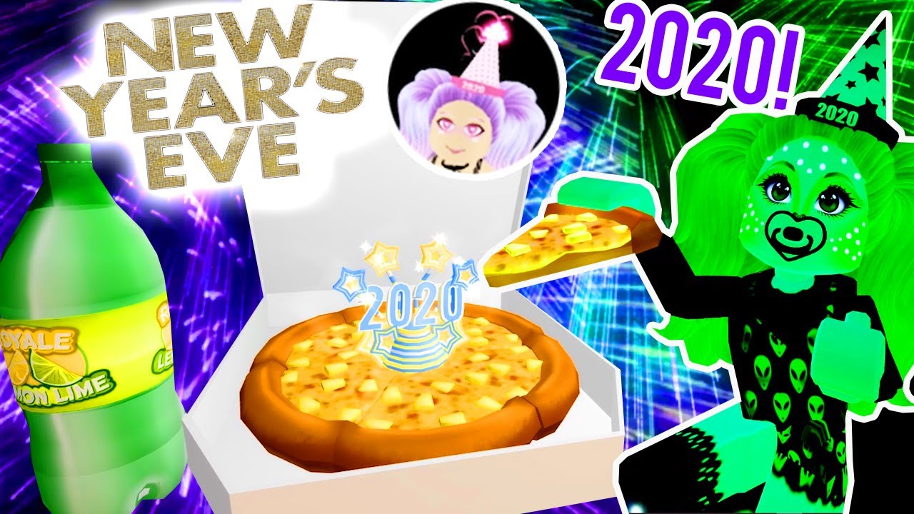 Happy New Year Royale High 2020 Nye Update Pineapple Pizza Party