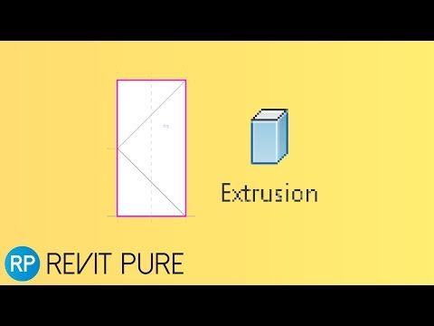 Revit Tip Model Door Panel With The Extrusion Tool Youtube