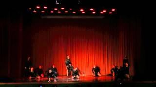 Эстрадный танец - большая форма