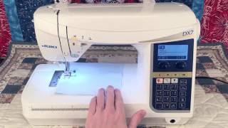 видео Швейная машина Juki HZL-DX7