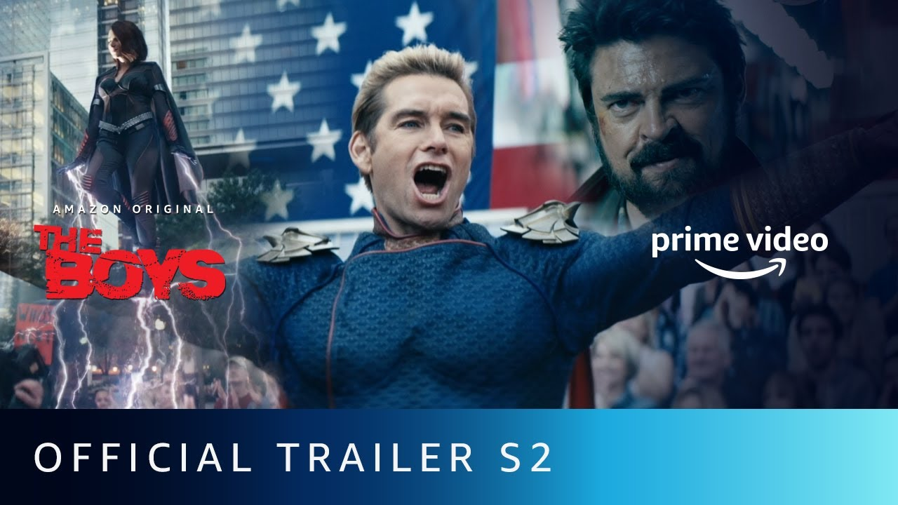 The Boys S2 - Official Trailer 2020 | Karl Urban, Jack Quaid, Antony Starr |Amazon Original | Sept 4