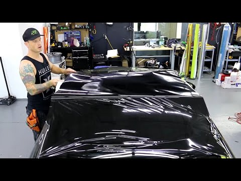 How To Wrap Your Roof In Gloss Black Super Detailed Pov Lexus Rc 300 Youtube