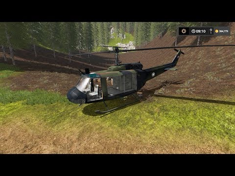Transporting logs with helicopter | The Interior | Farming Simulator 2017 | Episode 19