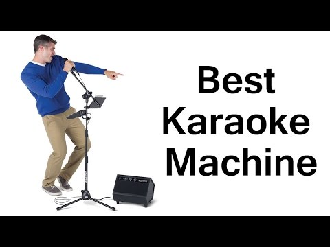 Best Portable Karaoke Machine For Sale