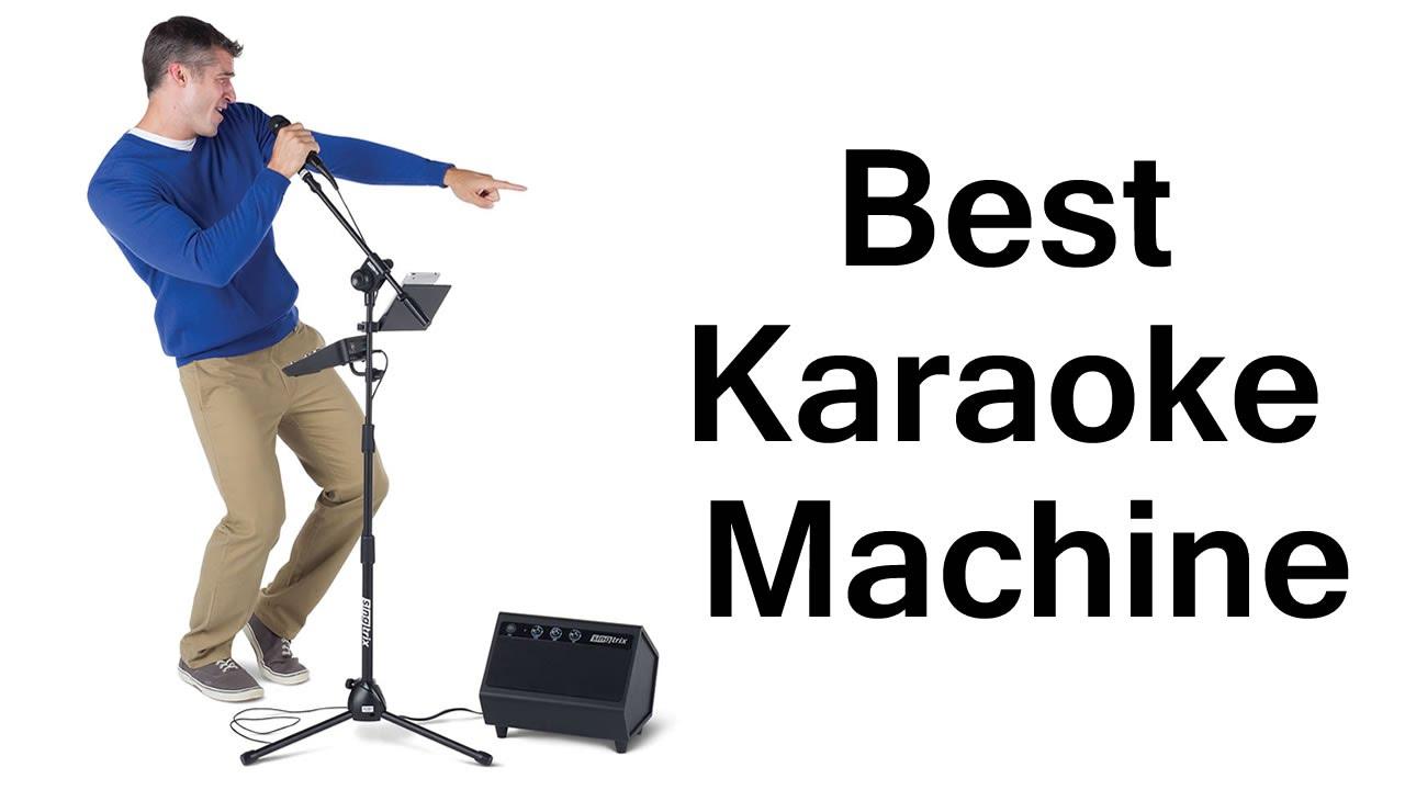 Best Portable Karaoke Machine For Sale - YouTube