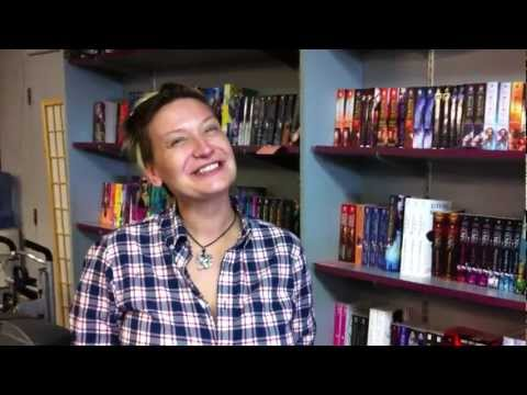 Indie Author Road Trip (Day 10, Pt 2): Mysterious Galaxy bookstore with Allison Moon