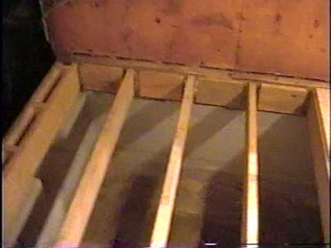 DIY 12 - Subfloor & wall framing - YouTube