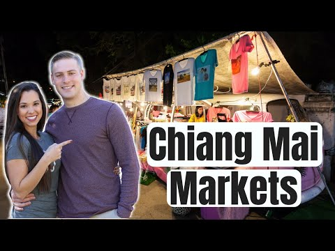 Thailand Travel Vlog: Chiang Mai Saturday Night Market