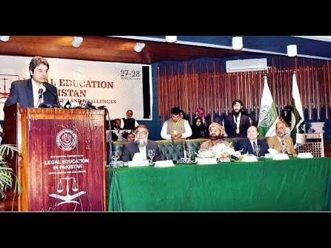 """Seminar: """"Legal Education in Pakistan: Opportunities and Challenges"""""""