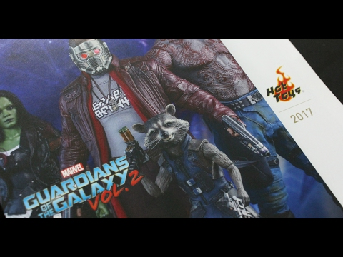 First Look ! Hot Toys Catalogue 2017 (GOTG2. Spider-Man: Homecoming !!)