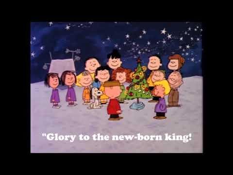 Hark The Herald Angel Sings-A Charlie Brown Rendition