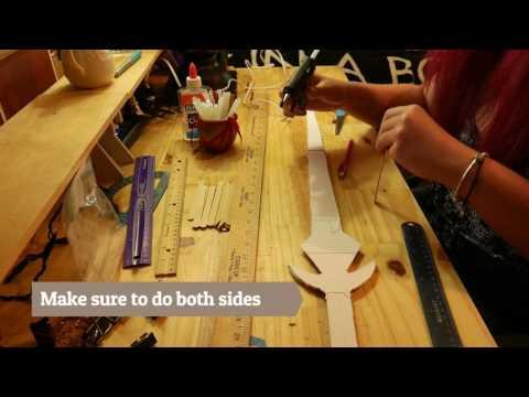DIY Paper Sword