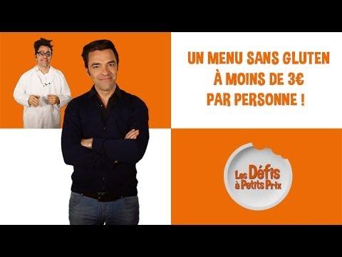 Menu sans gluten à moins de 3 € - Défis à Petits Prix