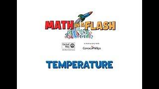 Math in a Flash | Temperature