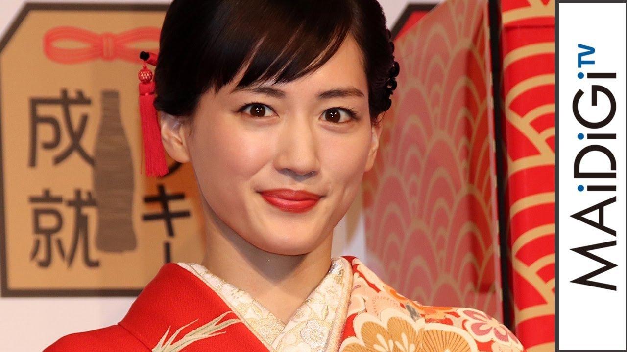 綾瀬はるか、大河ドラマでの\u201cはかま姿\u201d披露に照れ笑い「10代をやらせていただいて。あはは」