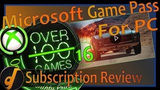 Microsoft Game Pass for PC - Subscription Review