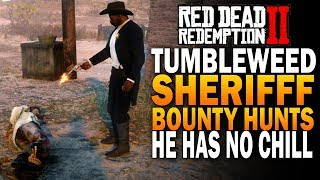 New Bounties! Help The Tumbleweed Sheriff Hunt Del Lobo! Red Dead Redemption 2 Bounty Hunting [RDR2]