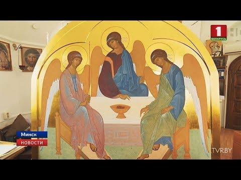 Для храма святой блаженной Матроны Московской расписывают иконостас