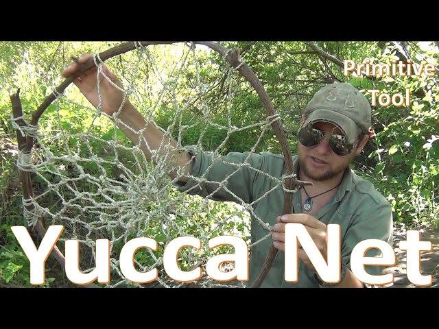 Primitive Net Build -Survival Fish Trap-