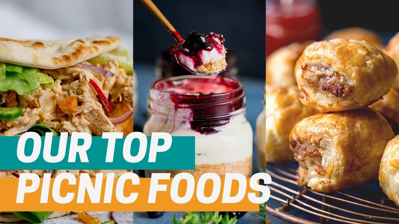 5 of our favourite picnic ideas that aren't sandwiches + 1 BONUS Recipe