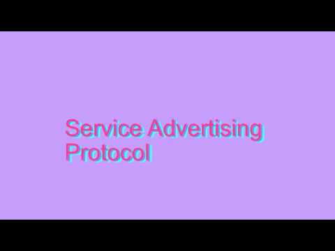 How to Pronounce Service Advertising Protocol