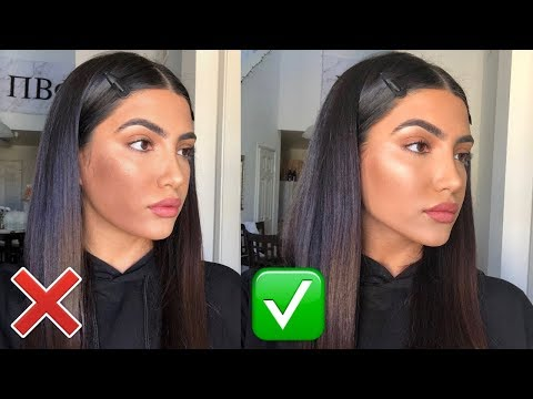 HOW TO CONTOUR AND HIGHLIGHT: DO'S AND DONT'S!