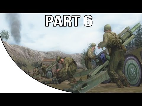 Call Of Duty 2 Big Red One - Gameplay Walkthrough Part 6 - Piano Lupo