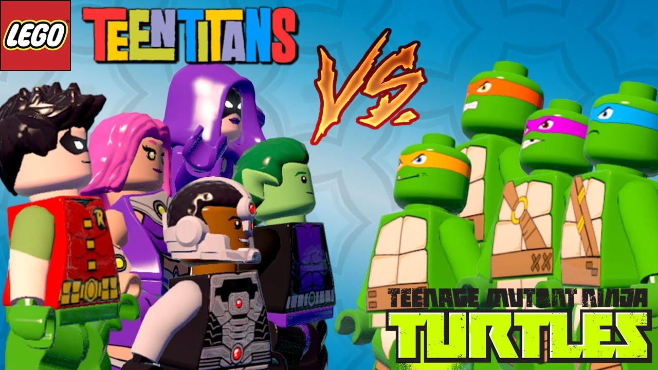LEGO Batman 3 - Os Jovens Titãs VS As Tartarugas Ninjas   Briga de Herois  #97