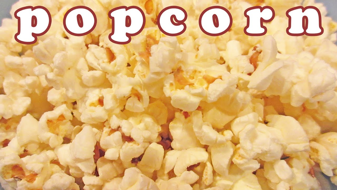 Microwave Popcorn Butter Buttered Pop Corn Kernel Easy