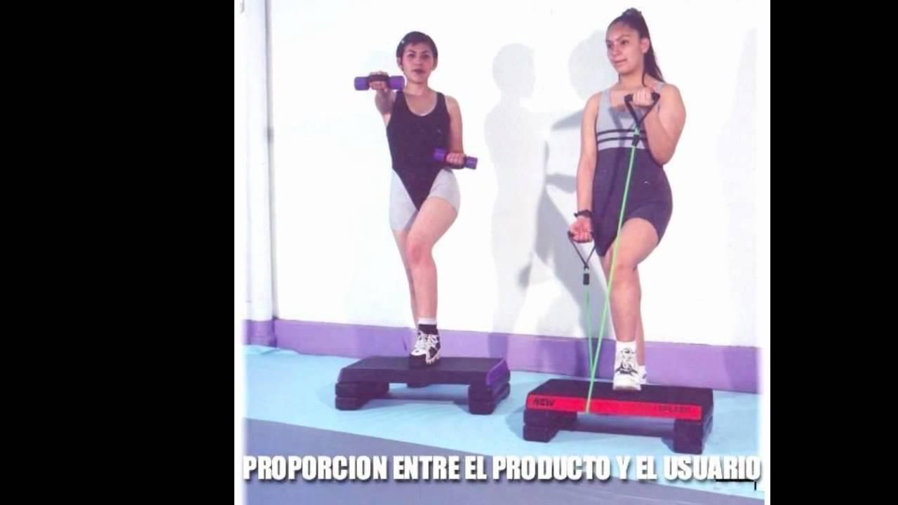 Step Banco Para Aerobics Rutinas Ejercicios Concepto