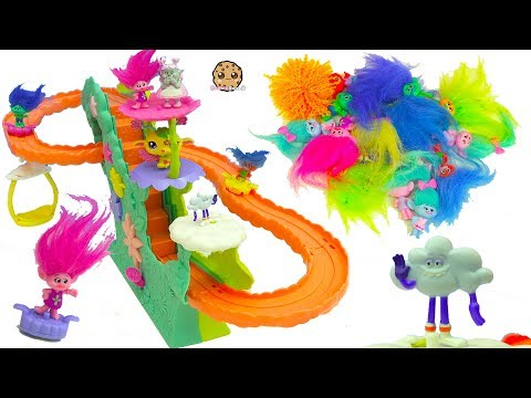 Thumbnail: Surprise Dreamworks Trolls Movie Blind Bags- Poppy & Branch Ride Rollercoaster