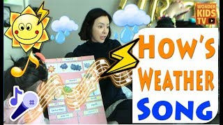 ♪ SONG. 인기동요. 날씨 노래. How's The Weather song   NURSERY. KIDS SONG