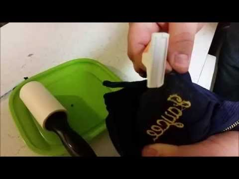 How To Remove Embroidery the Easy Way FFA Jacket - DIY with a Disposable Razor