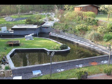 Les bases pour créer un bassin de jardin sans trop conneries - YouTube