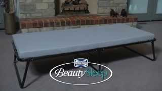 BEAUTY SLEEP PORTABLE GUEST BED   SINGLE SIZE
