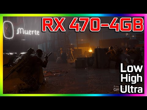 Ghost Recon Wildland - RX 470 4GB - i5 3570 - LOW HIGH ULTRA 1080p  