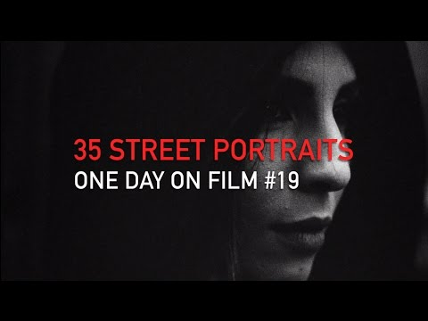 One Day On Film #19 | 35 Street Portraits of Strangers (Paris)